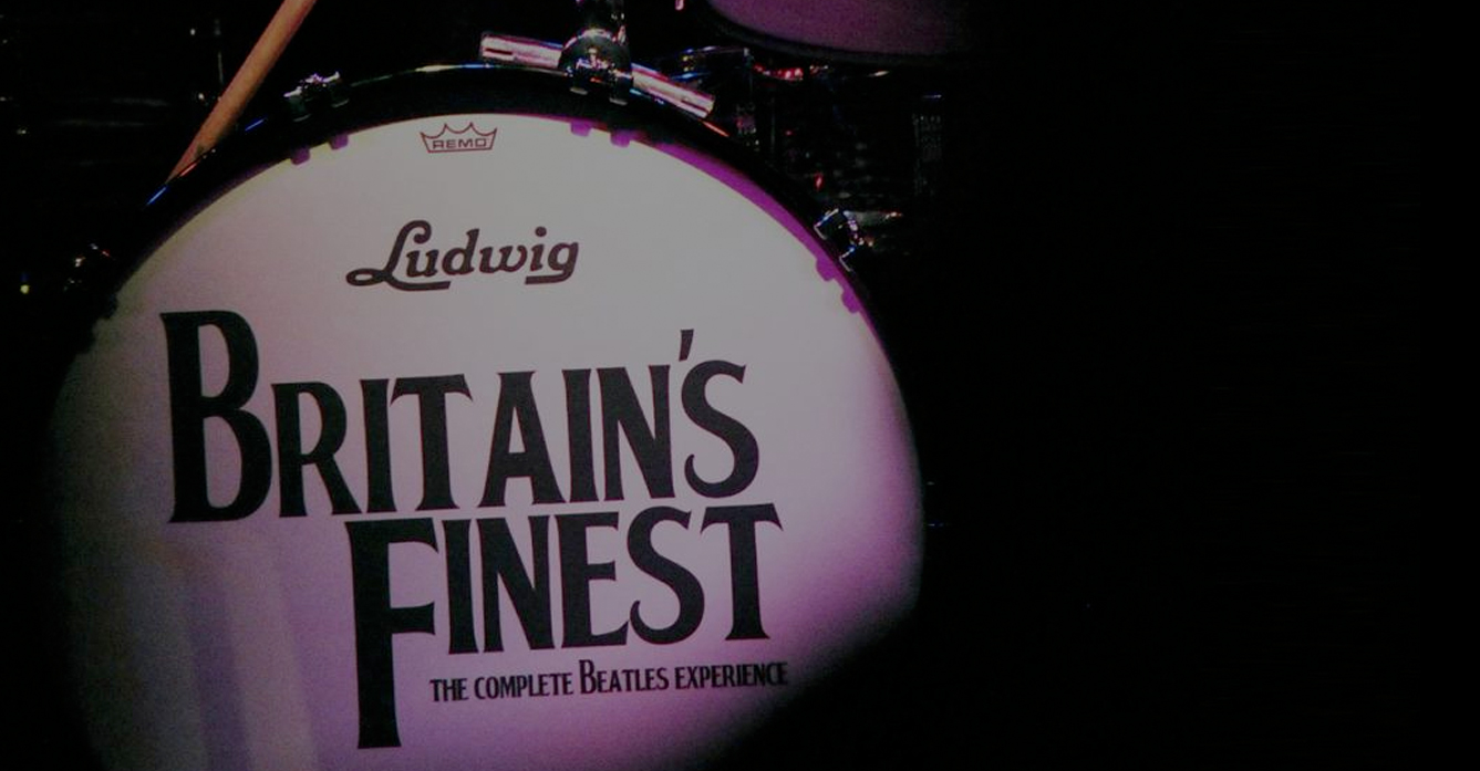 Britain's Finest - The Complete Beatles Experience Ludwig Drum Kit