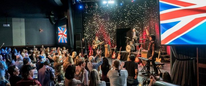 Britain's Finest Entertain A Packed Out Crowd At Casino Arizona Showroom